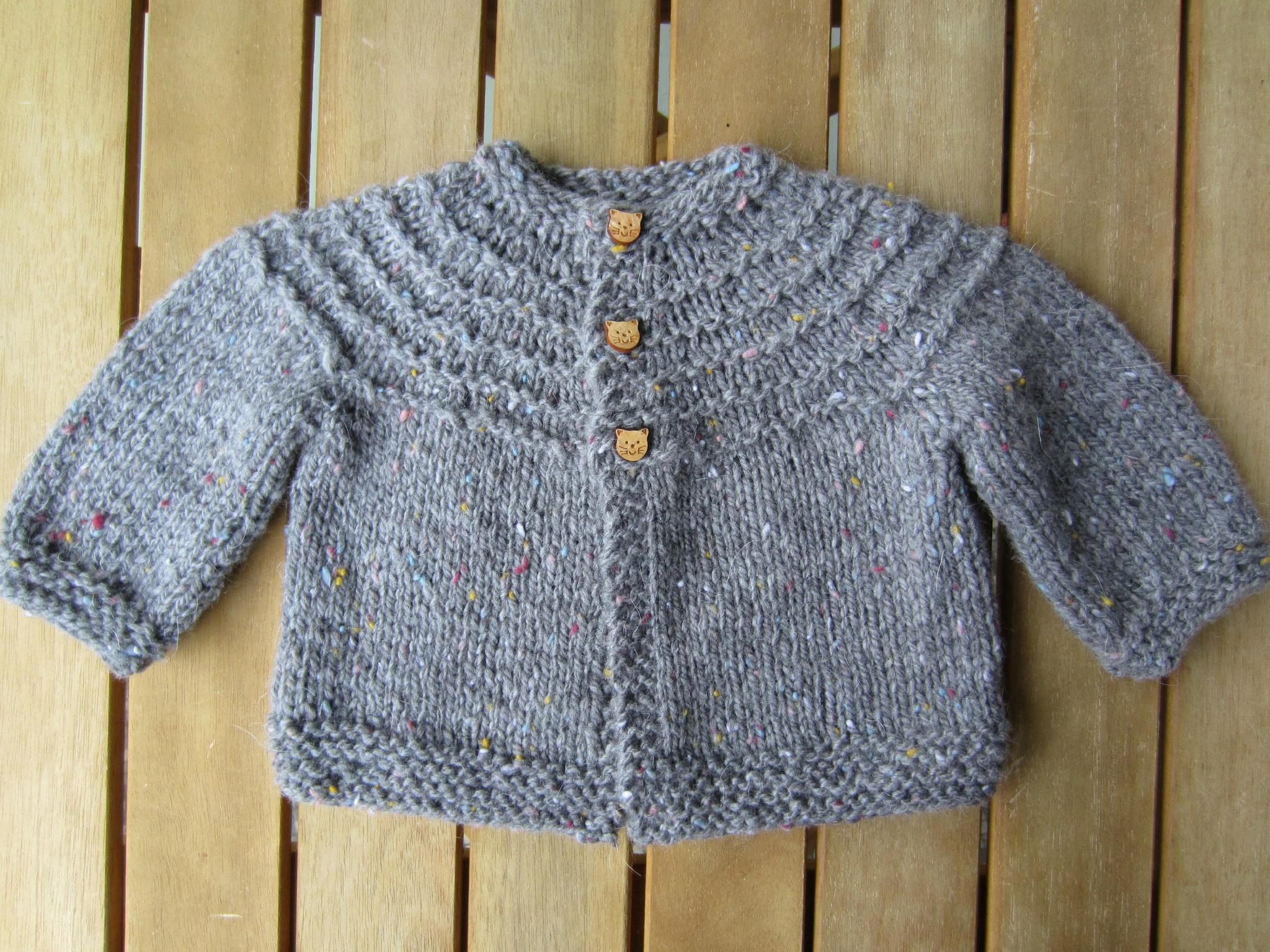 modele de tricot pour bebe de 3 mois