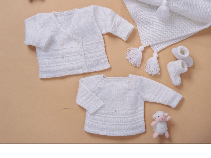 modele tricot gratuit layette bergere de france