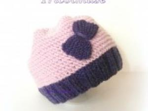 création modèle tricot bonnet 0-3 mois 1e5418fa133