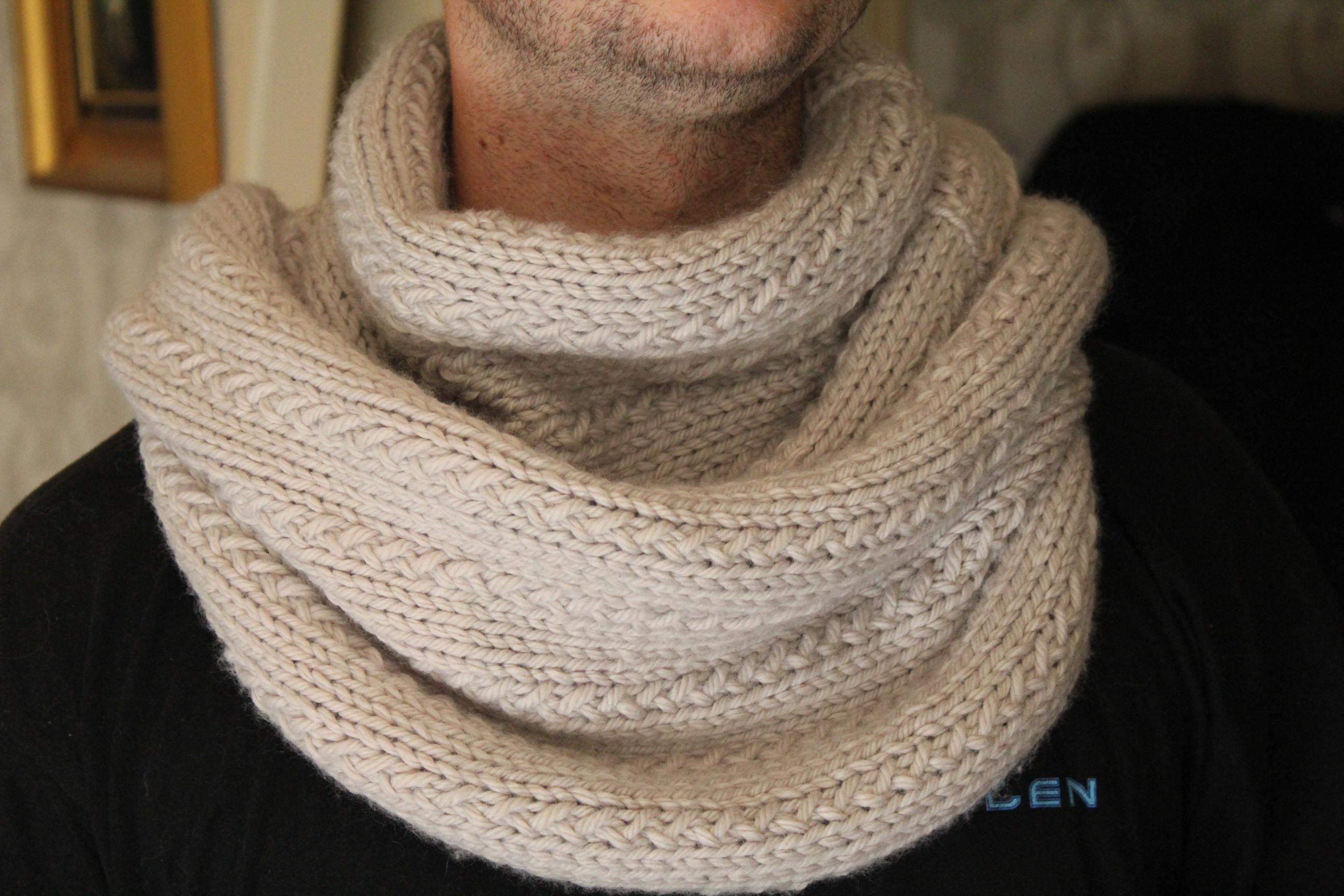 a94c0225f308 création modèle tricot echarpe tube