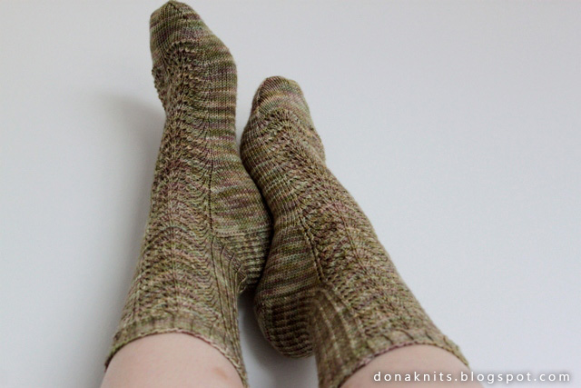 modele tricot grosse chaussette