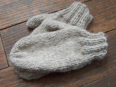 comment tricoter des moufles en laine
