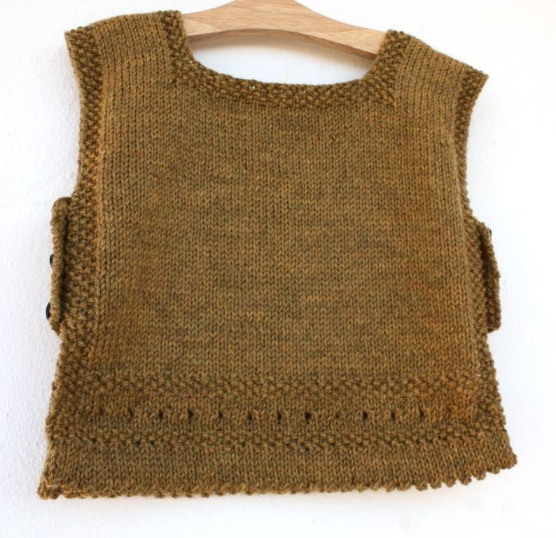 debardeur femme a tricoter
