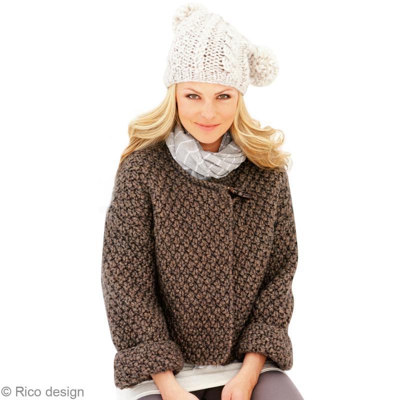 Mod le tricoter veste en laine - Tricoter une echarpe en laine ...