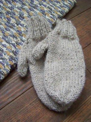 modèle tricot moufles