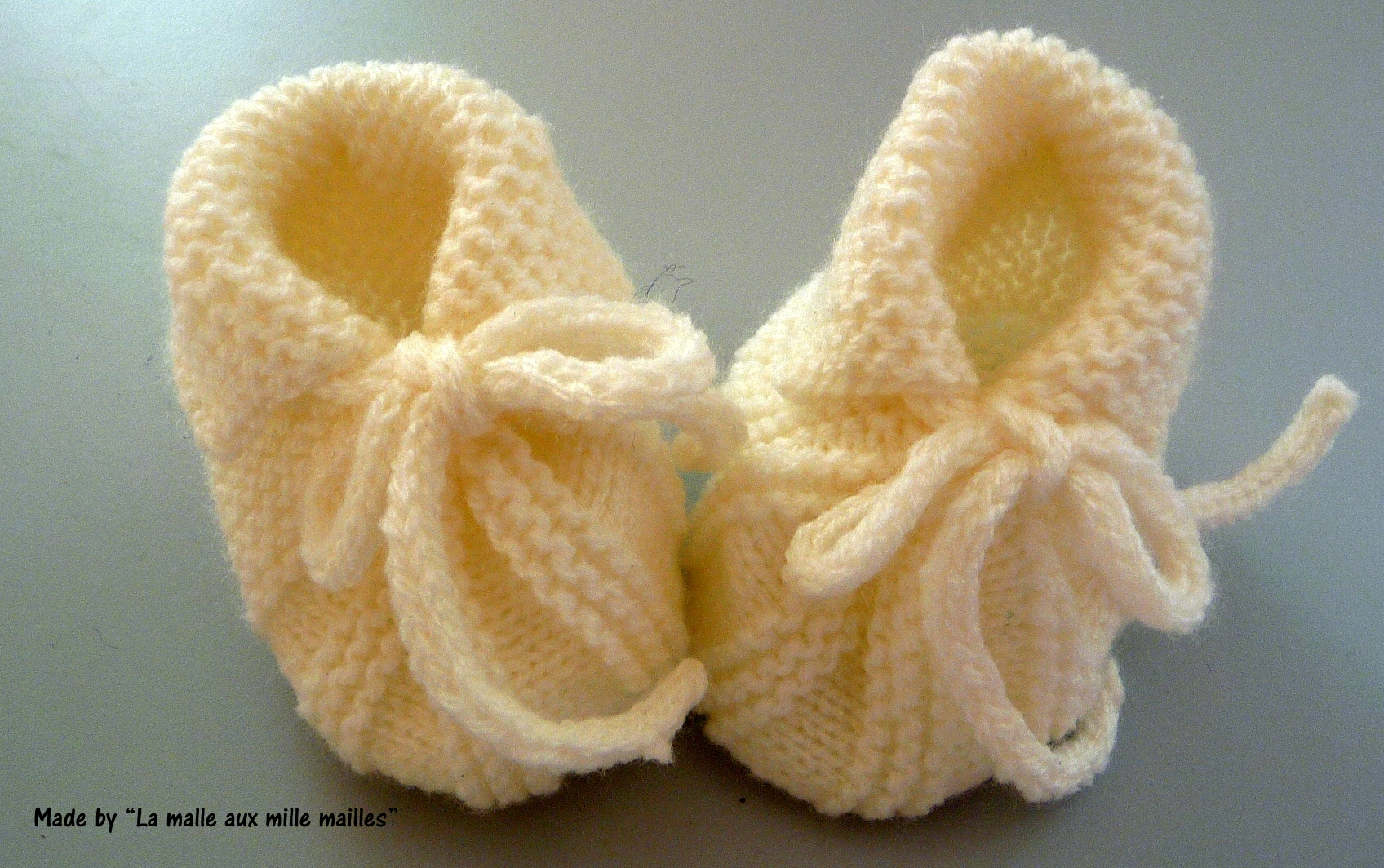 mod u00e8le tricot chausson sans couture