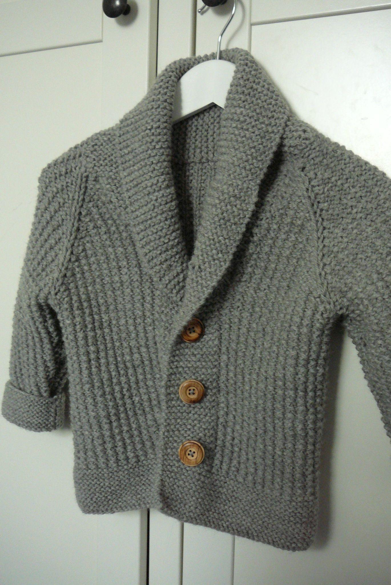 modele tricot gilet garcon 5 ans