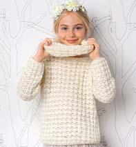 modèle tricot jeune fille