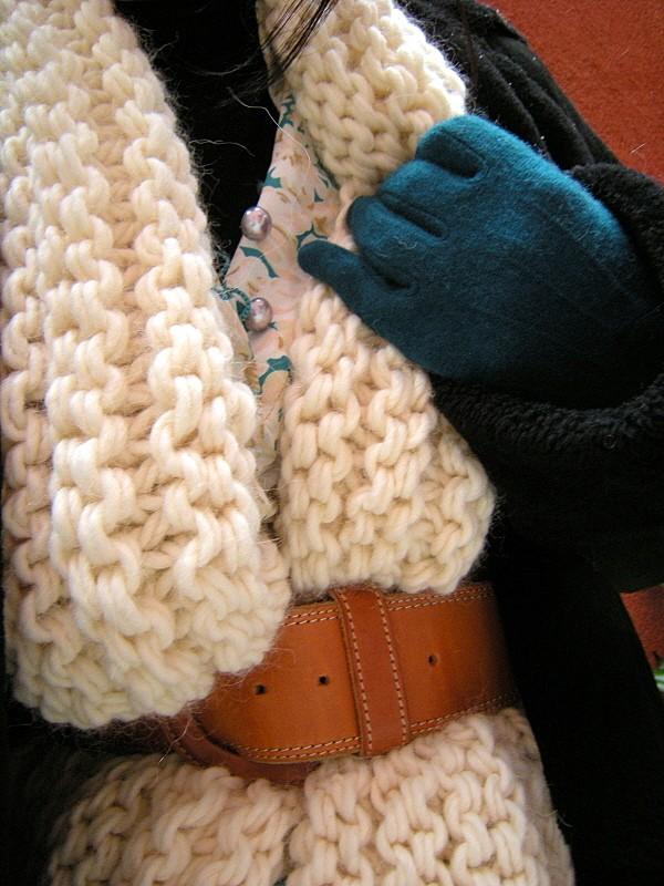 Explication mod le tricot pull grosse laine - Grosse laine pour tricoter sans aiguille ...