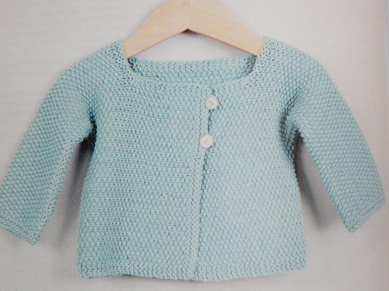 modèle tricot veste bébé gratuit