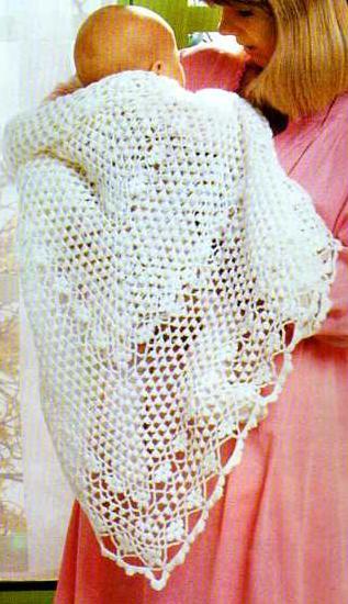 Mod le chale tricot au crochet - Modele tapis crochet gratuit ...