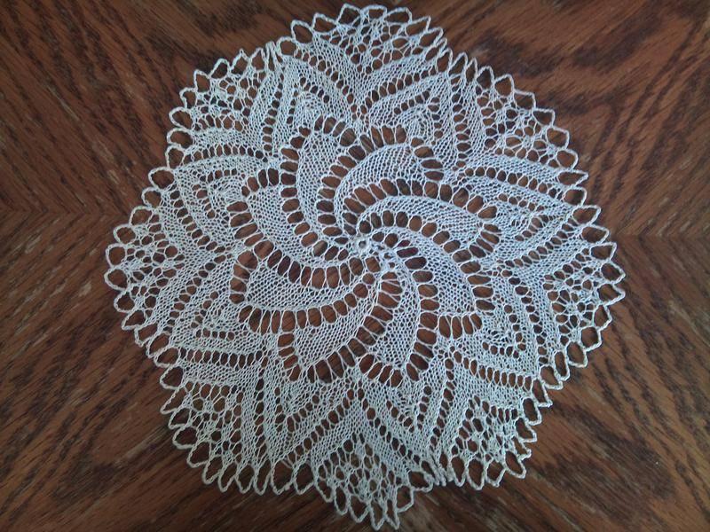 modèle tricot napperon