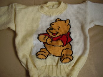 modèle tricot winnie l ourson