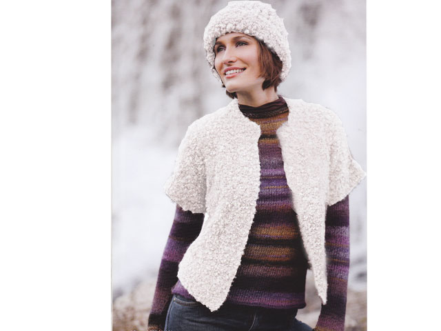 tricoter gilet femme