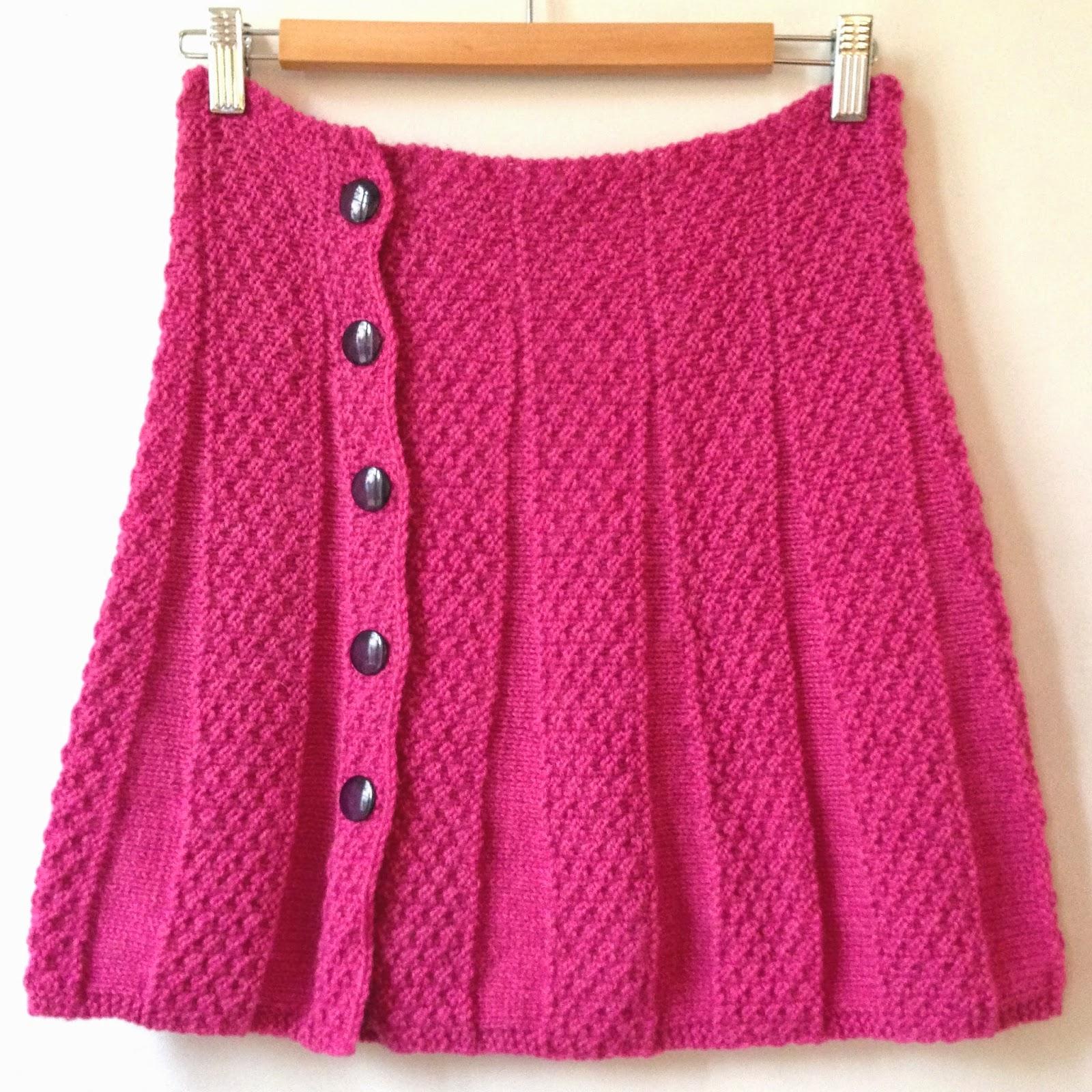 Mod le jupe tricot 2 ans - Cote 2 2 tricot ...