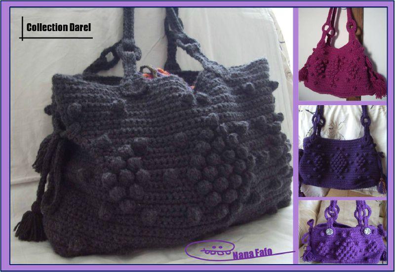 modèle sac tricot darel