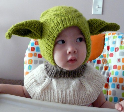 Tricoter yoda