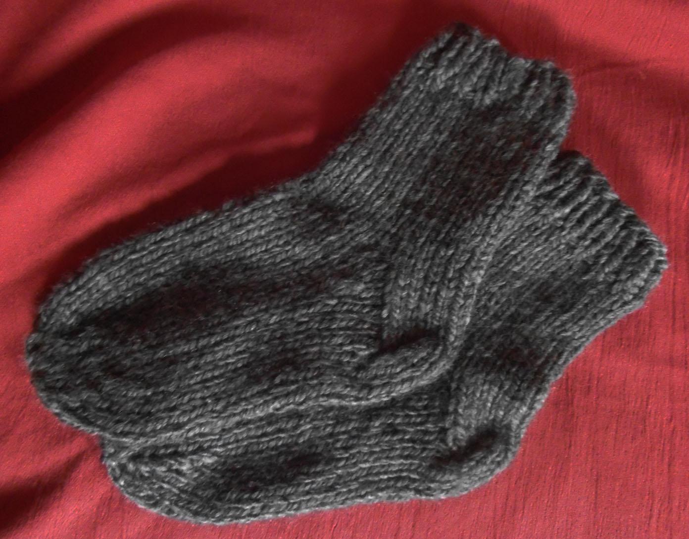Mod le tricot grosses chaussettes - Modele tricot aiguille circulaire ...