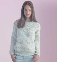 Modele tricot pull femme debutant - Point fantaisie tricot phildar ...