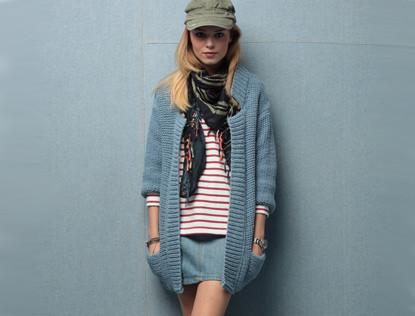 modèle tricot gratuit veste homme