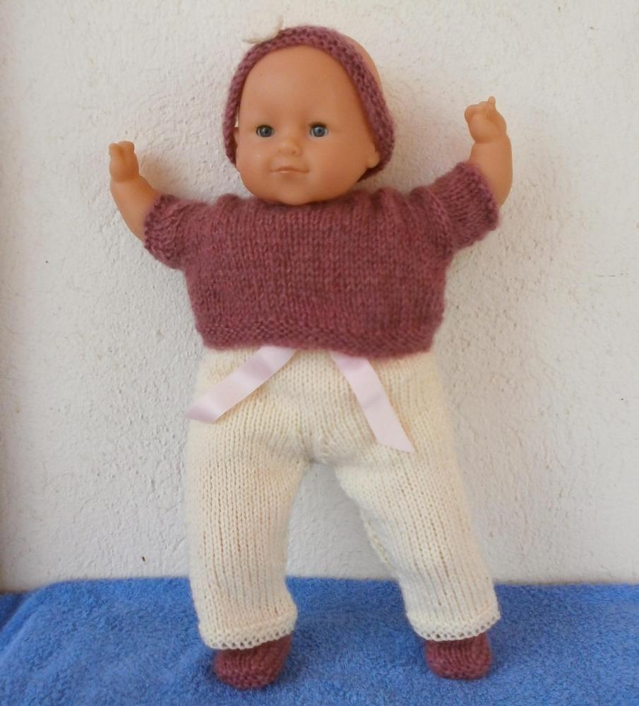 modèle tricot poupon 50 cm 22d2da81f250