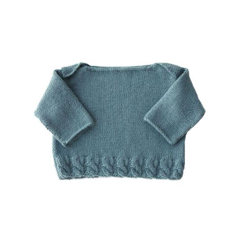 patron tricot bébé 3 mois