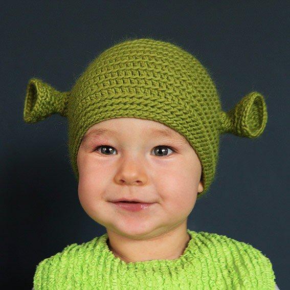 modèle tricot bonnet yoda