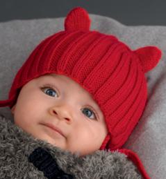5a382c2da199 affichage modèle tricot bonnet bébé 3 mois