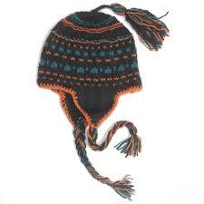 modèle tricot bonnet peruvien homme