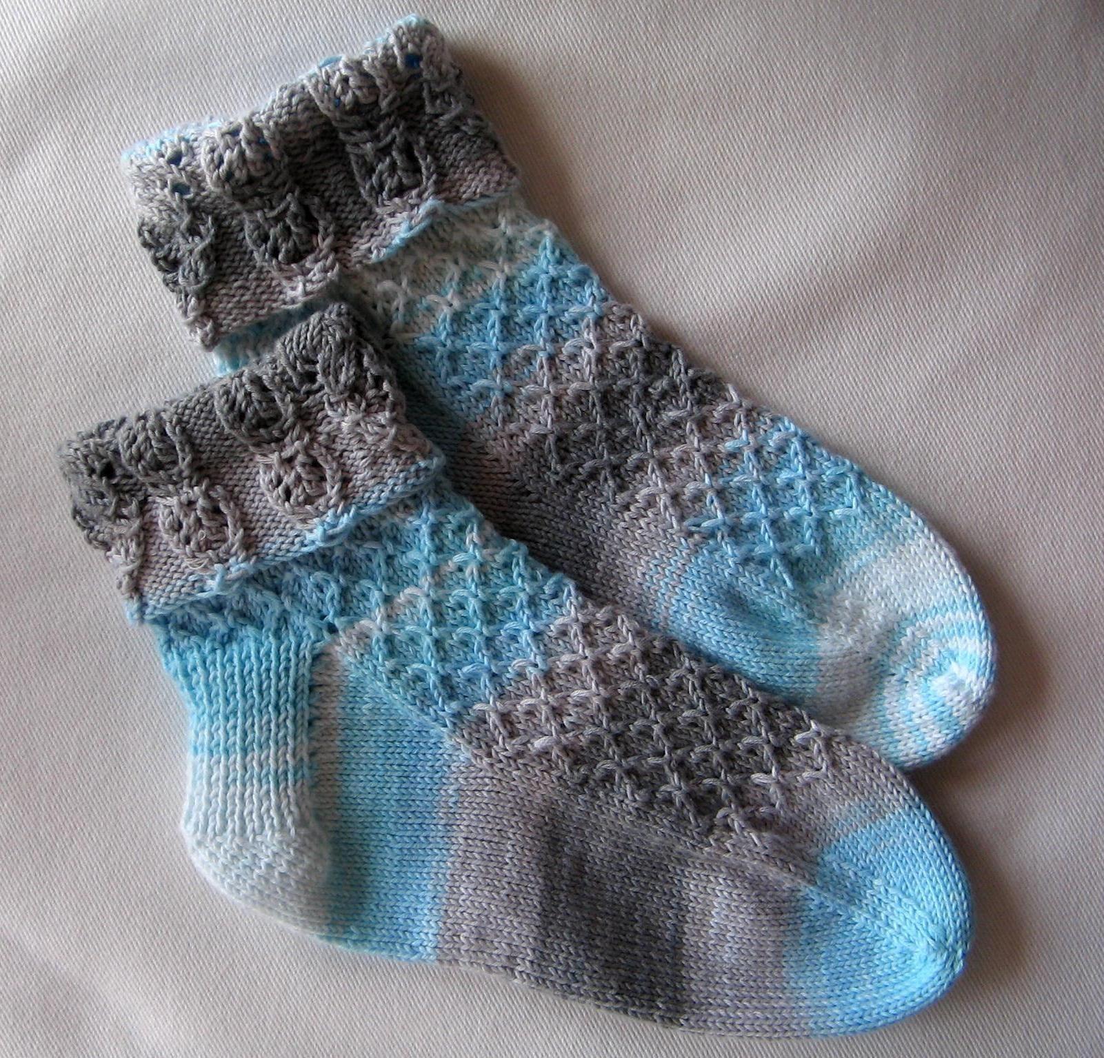 modele de chaussettes a tricoter