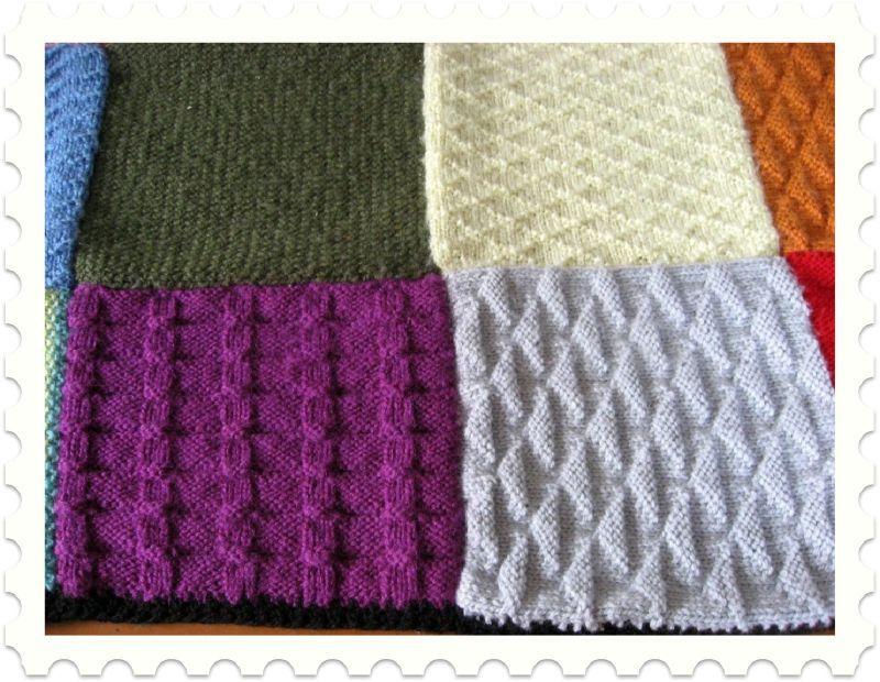 apprendre a tricoter un patchwork. Black Bedroom Furniture Sets. Home Design Ideas