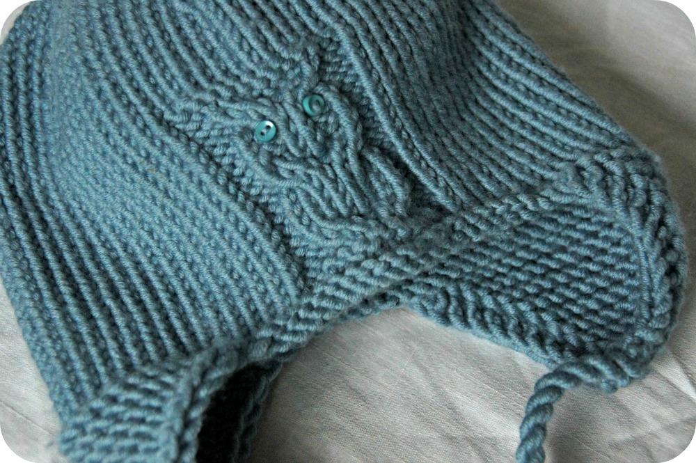 patron tricot bonnet peruvien bébé