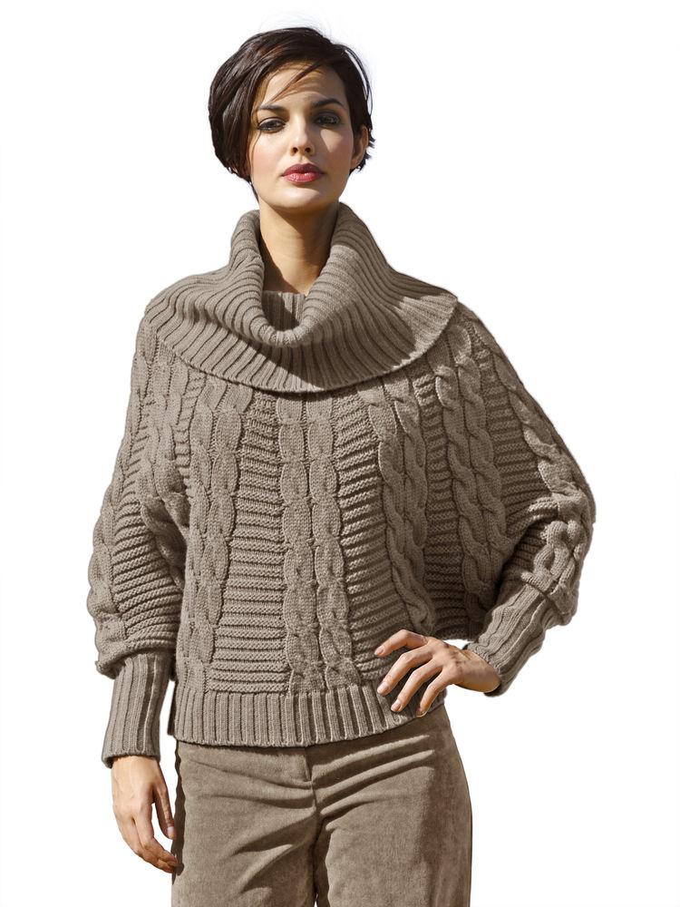 Affichage patron tricot pull manches chauve souris for Modele chauve souris