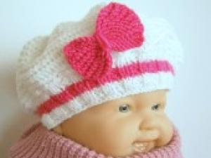 aide modèle bonnet tricot gratuit pour bébé 75d3e2c8e94
