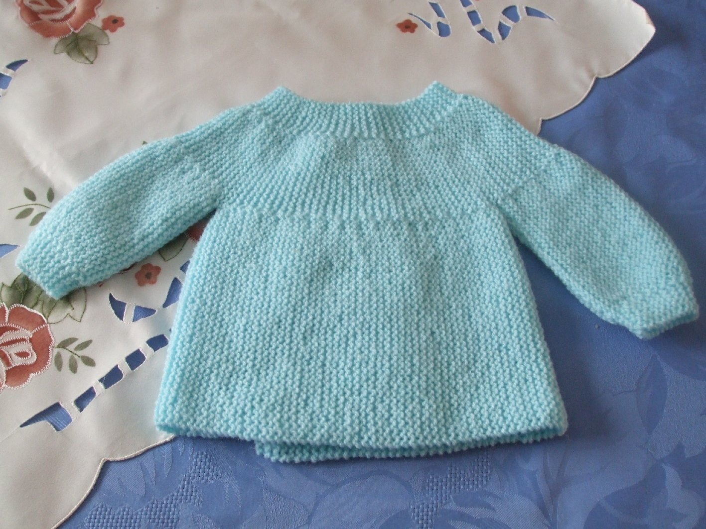 modele tricot brassiere