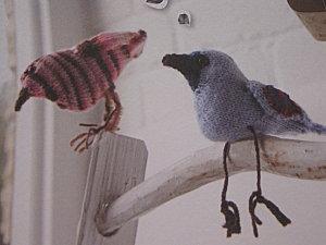 modèle oiseau tricot