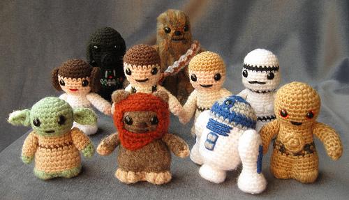 modèle tricot star wars