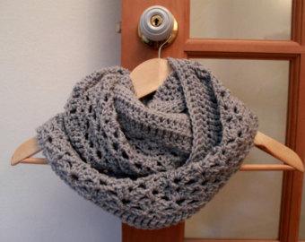 patron tricot foulard infinity gratuit