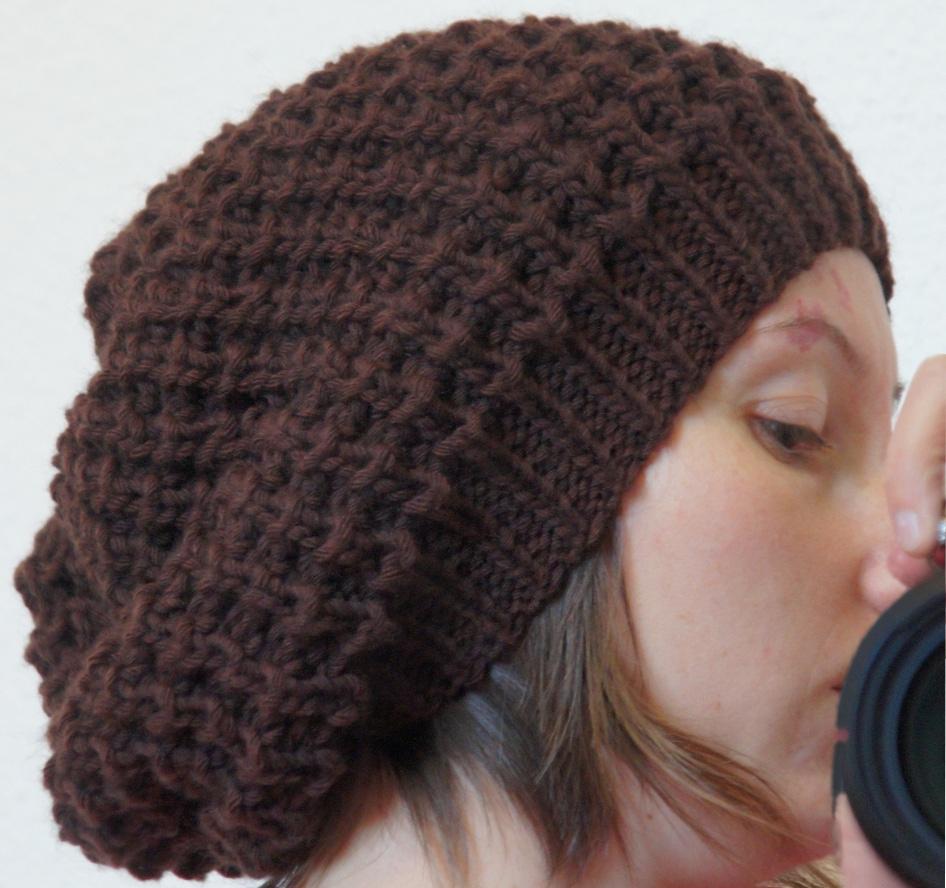 patron tricoter un bonnet