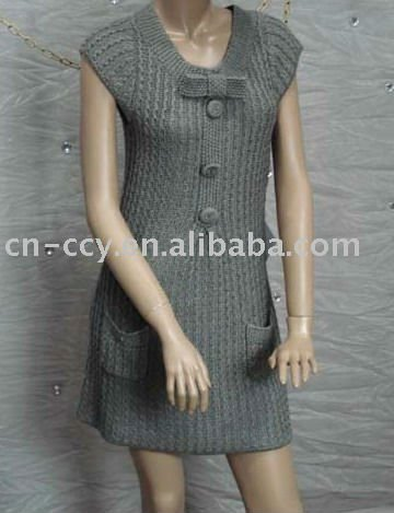Robe pull femme a tricoter modele gratuit