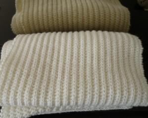 patron tricot echarpe femme gratuit