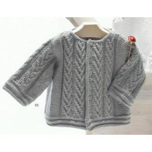 patron tricot gilet coton. Black Bedroom Furniture Sets. Home Design Ideas