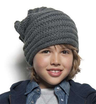 tricoter un bonnet garcon