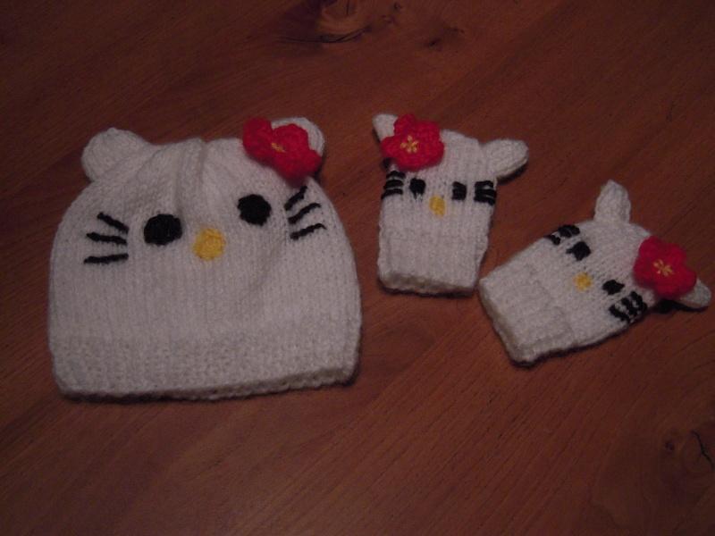 Modele tricot echarpe hello kitty - Modele hello kitty ...