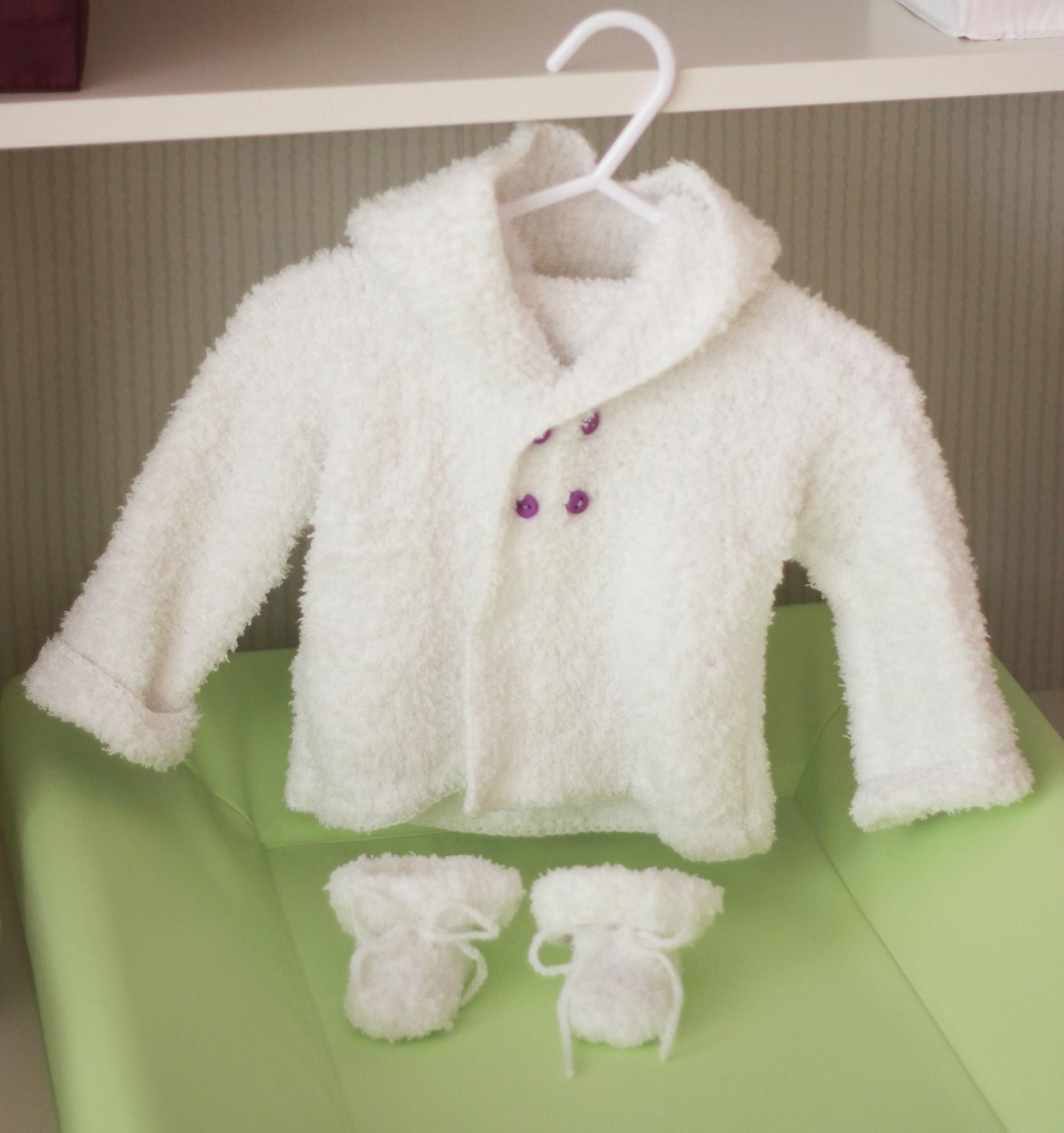 modele tricot gilet bebe gratuit