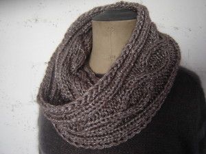 modele tricot snood