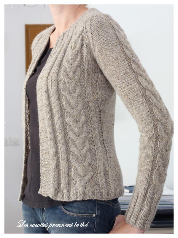 tricot laine modele gratuit