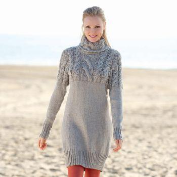 tricoter robe pull