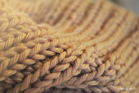5d214fd79dea création modèle tricot echarpe grosse laine