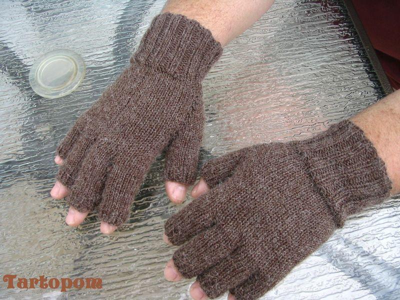 modèle tricot gant femme